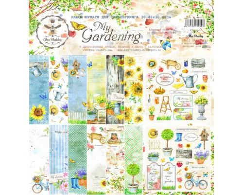 """Набор бумаги 30.48*30.48 см """"My Gardening"""" Bee Shabby"""