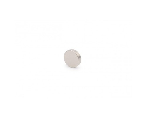 Магнит неодимовый малый круглый, 6х1 мм, 10 шт