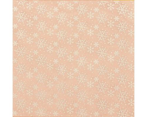 Ацетатный лист с фольгированием «Вьюга», 20 × 20 см, АртУзор
