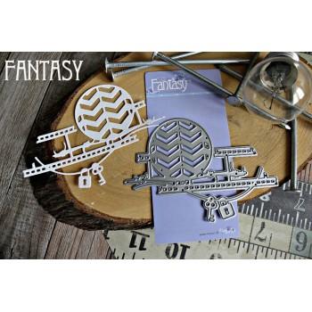 """Нож для вырубки """"Стимпанк 4"""" от Fantasy"""