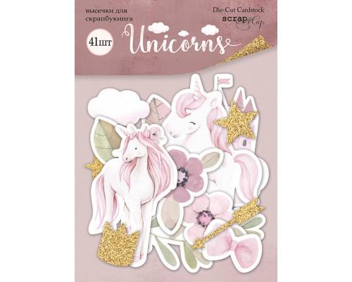 """Высечки бумажные """"Unicorns"""" Scrapmir"""