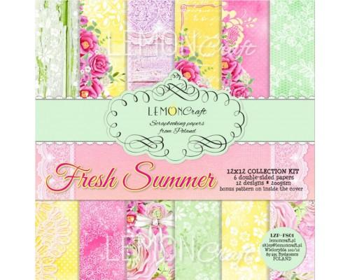 "Набор бумаги ""Fresh Summer"" 30*30 см LemonCraft"