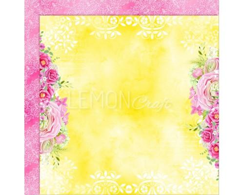 """Бумага двухсторонняя """"Fresh Summer"""" Lemoncraft"""