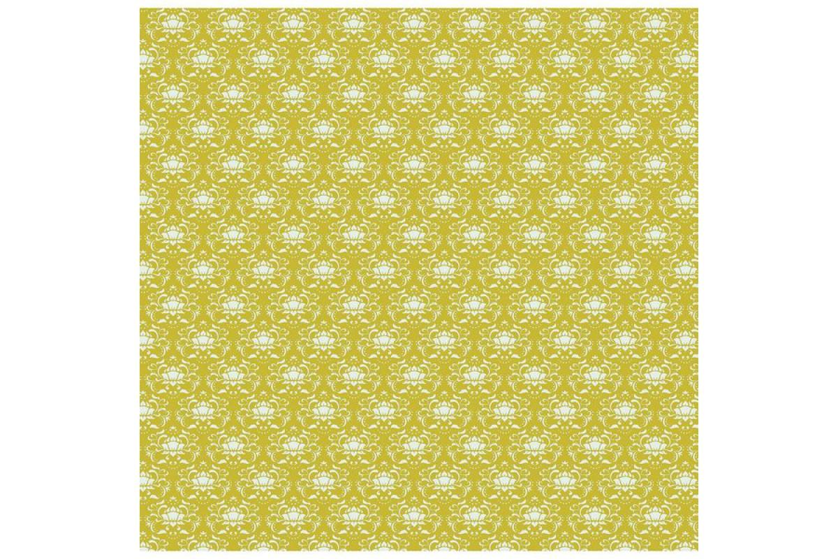 """Ткань Tilda """"средний дамасск"""", Винтажное золото  50*55 см"""