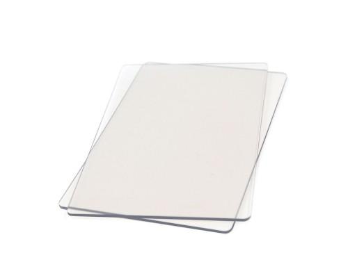 Прозрачные пластины для вырубки 1 пара, А4