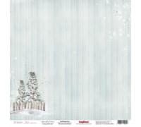 "Бумага односторонняя коллекция ""Winter joy"""