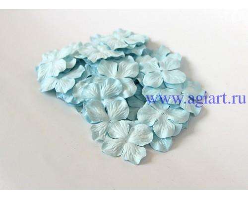 Гортензии голубые 5 см 10 шт