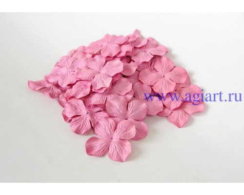Гортензии розовые 5 см 10 шт