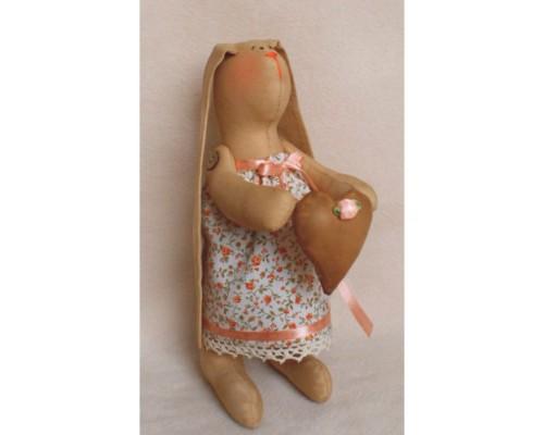 """Набор для изготовления куклы """"Зайка девочка""""  24 см"""