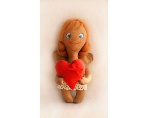 """Набор для изготовления куклы """"ANGEL'S STORY с сердечком""""  21 см"""