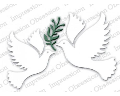 "Форма для вырубки ""Peace Dove""  Iostamps"