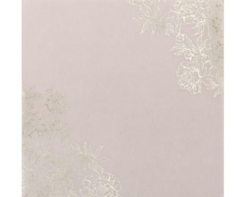 Калька декоративная c фольгированием «Цветочная романтика» , 20 х 20 см, 1 шт., Артузор