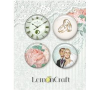 "Фишки ""Love of my life"" 4 шт. LemonCraft"