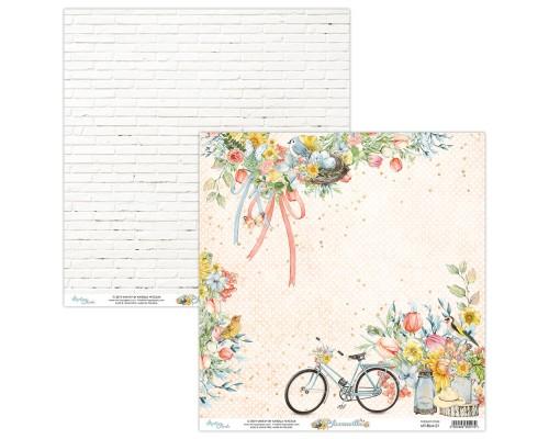 "Бумага двусторонняя коллекция ""Bloomville"" 30.5 х 30.5 см., Mintay paper"