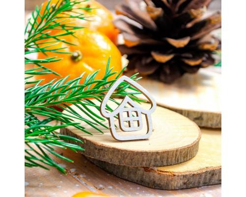 """Чипборд """"Домик"""", Wood Home"""