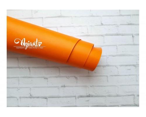 Кожзам, Апельсин 33*70 см. Италия