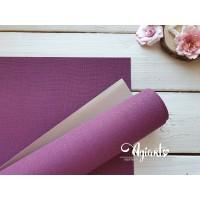 Переплетный материал с тканевой текстурой 35*70 см, св.фиолетовый, Нидерланды