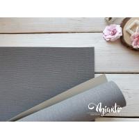 Переплетный материал с тканевой текстурой 35*70 см, темно-серый, Нидерланды