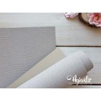 Переплетный материал с тканевой текстурой 35*70 см, св. серый, Нидерланды