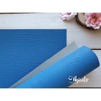 Переплетный материал с тканевой текстурой 35*50 см, св.синий, Нидерланды