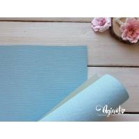 Переплетный материал с тканевой текстурой 35*70 см, Голубой, Нидерланды