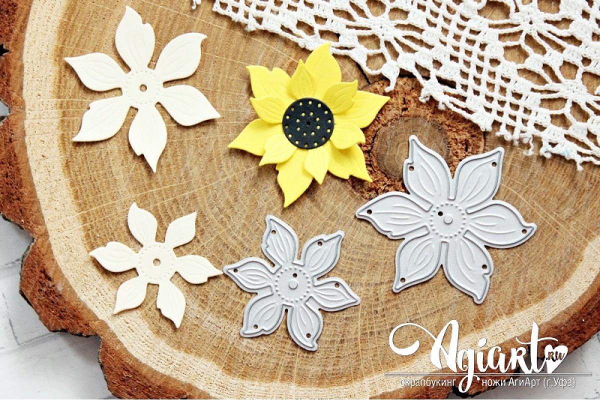 """Ножи для вырубки """"Летние цветы"""" от AgiArt"""