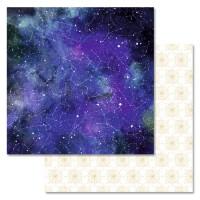 """Бумага двусторонняя """"Тайны вселенной. Созвездия"""", ScrapMania"""