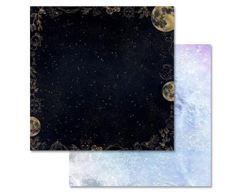 """Бумага двусторонняя """"Тайны вселенной. Ночное небо"""", ScrapMania"""
