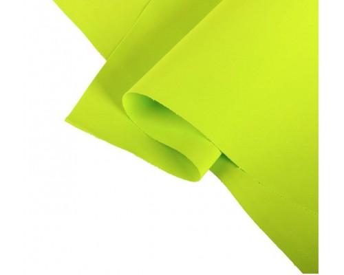 "Лист фоамирана Иран ""Желто-зеленый"" 35*60"