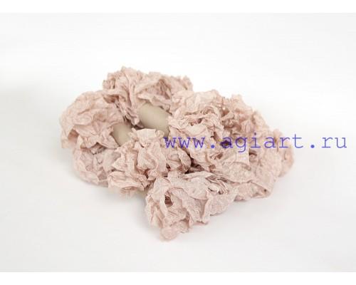 """Шебби лента - """"Чайная роза"""", 2,5 метра"""