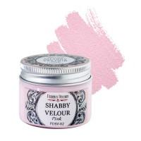 """Краска """"Шебби Велюр"""", цвет Розовый, 50мл."""