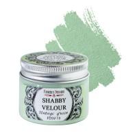 """Краска """"Шебби Велюр"""", цвет Винтажная Зелень, 50мл."""