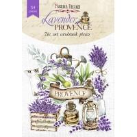 "Набор высечек ""Lavender provence"" 54 шт, Фабрика Декору"