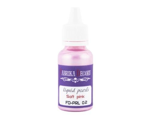 Жидкий жемчуг Нежно-розовый 39 ml