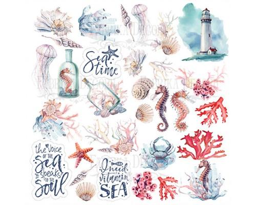 """Лист для вырезания """"Sea Soul"""", Фабрика Декору"""
