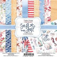 "Набор скрапбумаги ""Sea Soul"", 30,5 Х 30,5 см, Фабрика Декору"