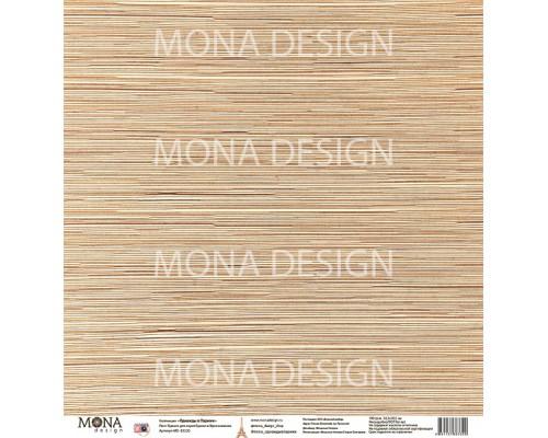 """Бумага односторонняя  """"Однажды в Париже. Вдохновение """" Mona Design"""