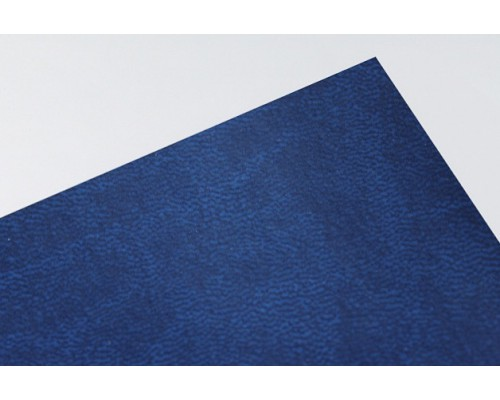 Кожзам, синий 50*35 см. Италия