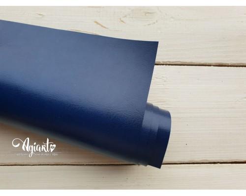Кожзам, Ярко-синий глянцевый 50*35 см. Италия