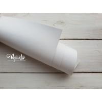 Кожзам, Белый глянцевый 50*35 см. Италия
