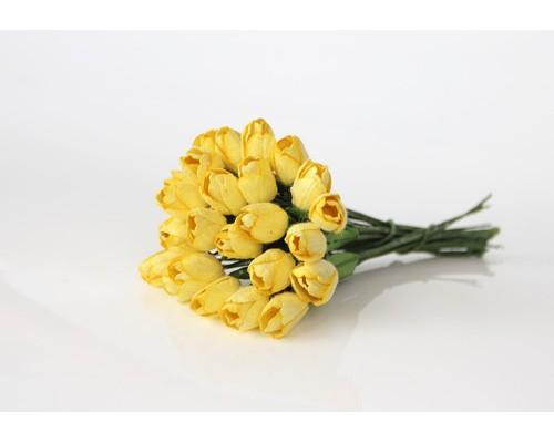 """Тюльпаны """"жёлтые"""", 5 штук"""