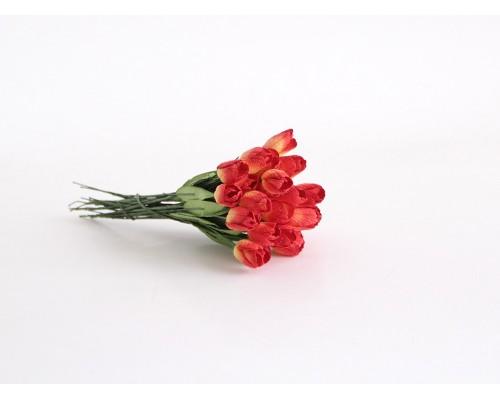 "Тюльпаны ""Красный + желтый"", 5 штук"