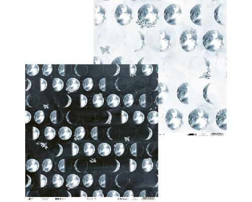 """Бумага двусторонняя коллекция """"New Moon"""" 30.5 х 30.5 см., Piatek Trzynastego"""