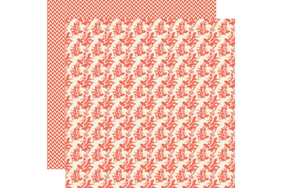 бумага коллекция «Pinwheel» двухсторонняя