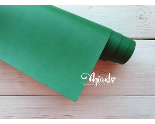 Кожзам, ярко-зеленый 50*35 см. Италия