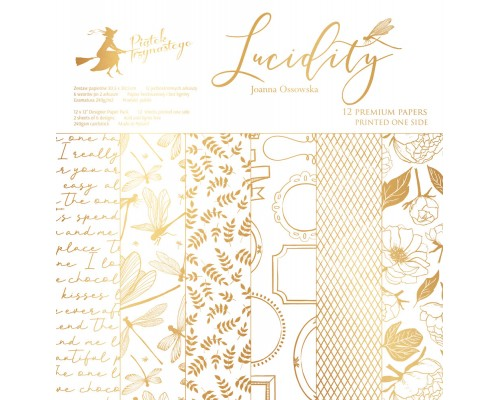 "Набор бумаги ""Lucidity"" 30.5 х 30.5 см 6 листов, 1/2 полного набора, P13"