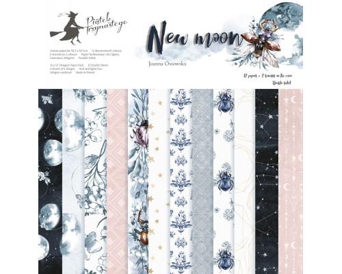 "Набор бумаги ""New Moon"" 15.3 х 15.3 см., 24 листа, P13"