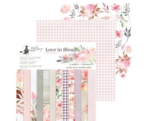 "Набор бумаги ""Love in Bloom"" 15.3 х 15.3 см., 24 листа, P13"