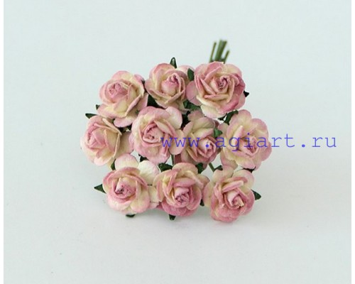 розы Молочный+ягодный 1 см, 10 шт.