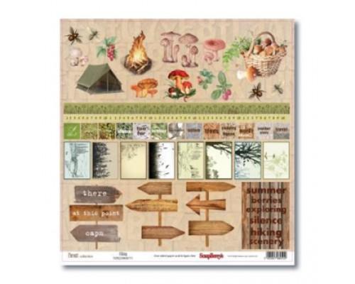 бумага коллекция «Лес» односторонняя